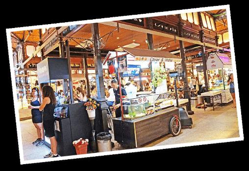 Rutas Gastronómicas, mercados de Madrid
